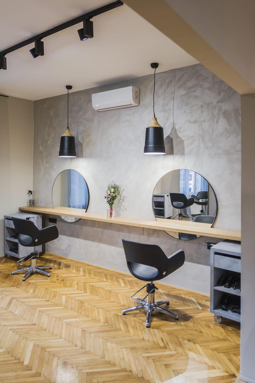 Zagreb, 090119. Novootvoreni frizerski salon Frida na Trgu Drage Iblera. Foto: Neja Markicevic / CROPIX