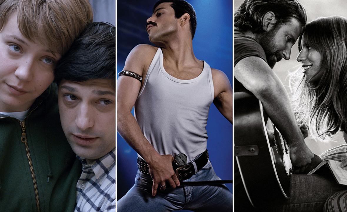 Slijeva na desno: 'Osmi povjerenik', Bohemian Rhapsody' i 'Zvijezda je rođena'