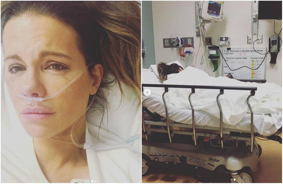 Glumica Kate Beckinsale u bolnici