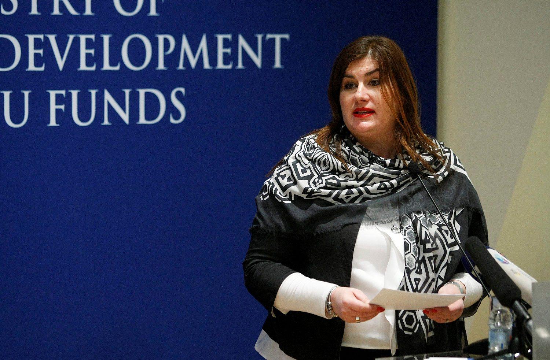 Minister of Regional Development and EU funds Gabrijela Žalac