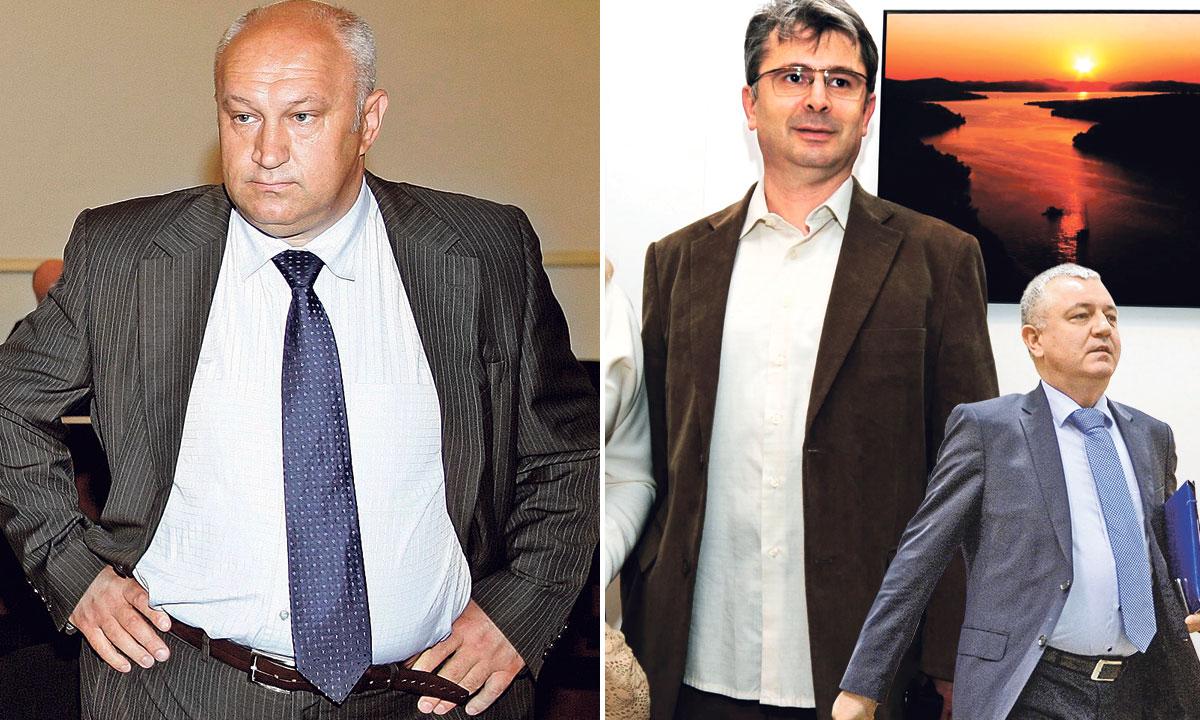 lijevo: Željko Sičaja; desno: Ante Gugo; desno dolje: Darko Horvat