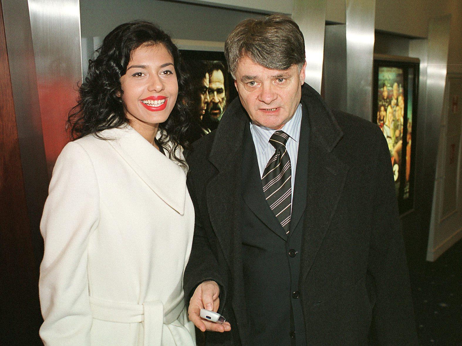Dolores Lambaša i Ivo Gregurević snimljeni 2004. godine