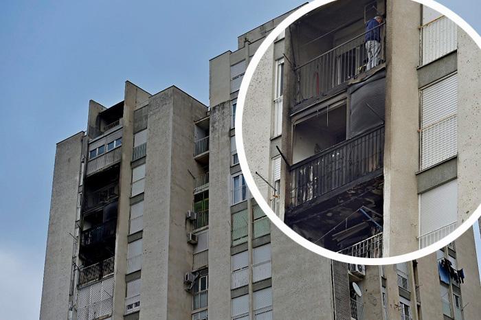 neboder balkon