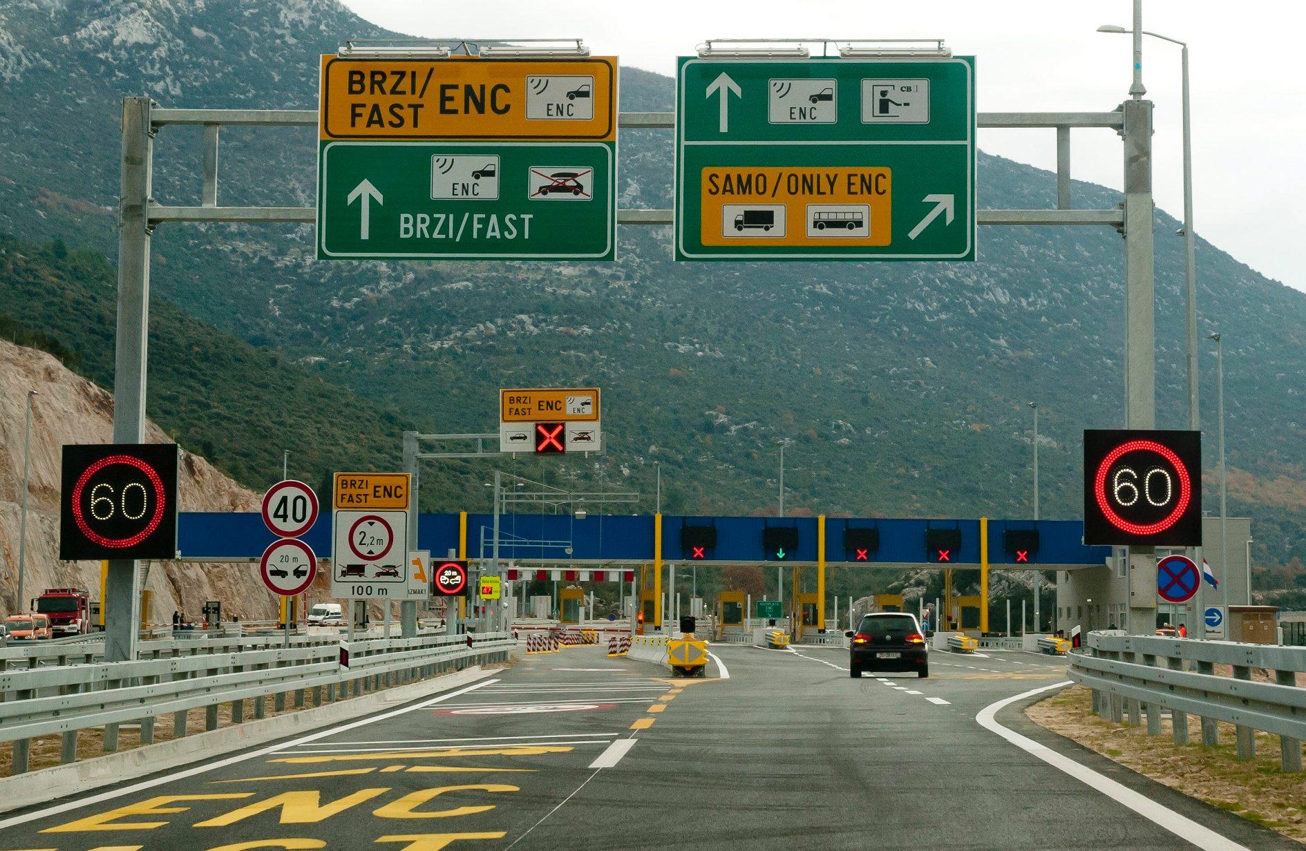Plaćanje autocestom ENC-om