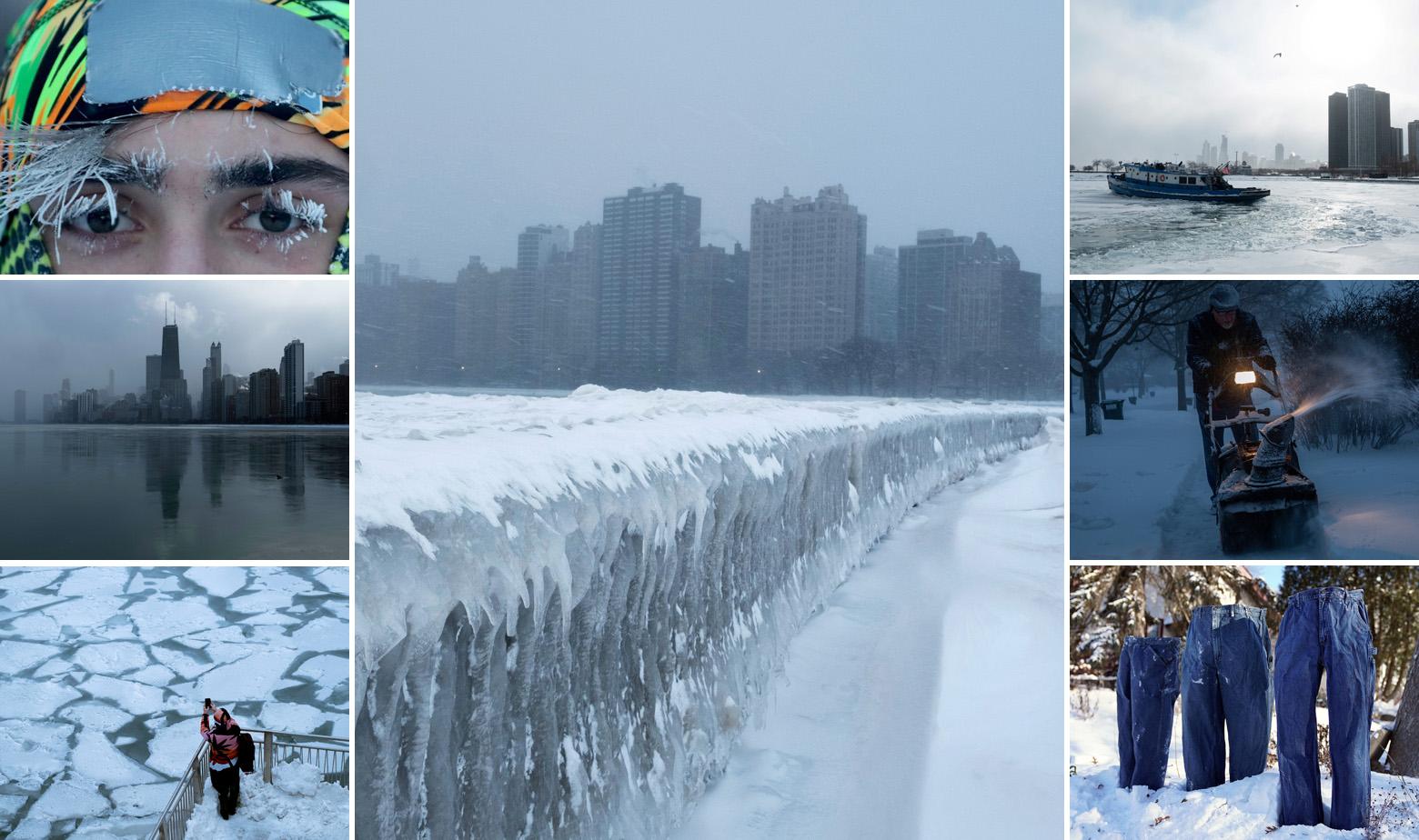 Hladnoća je okovala Chicago i velike dijelove SAD-a