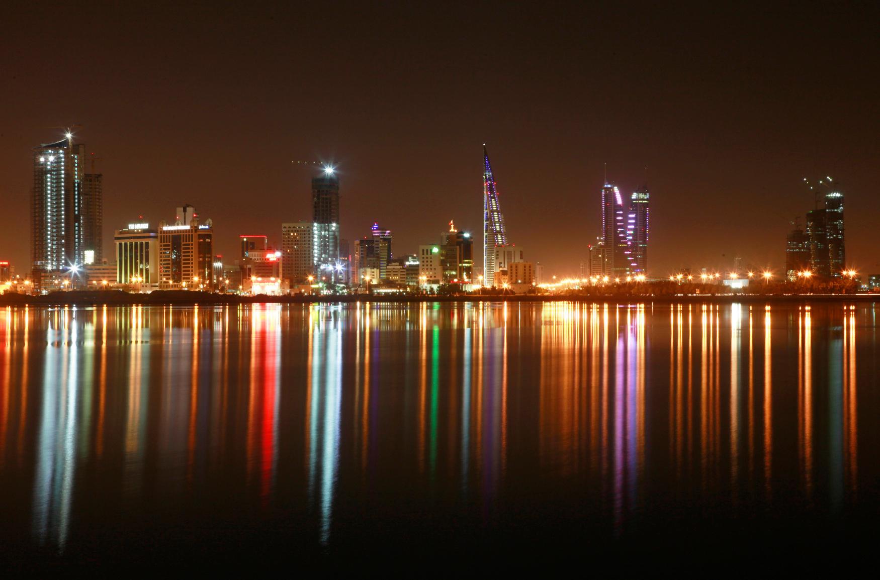 Panorama Maname, glavnog grada Bahreina
