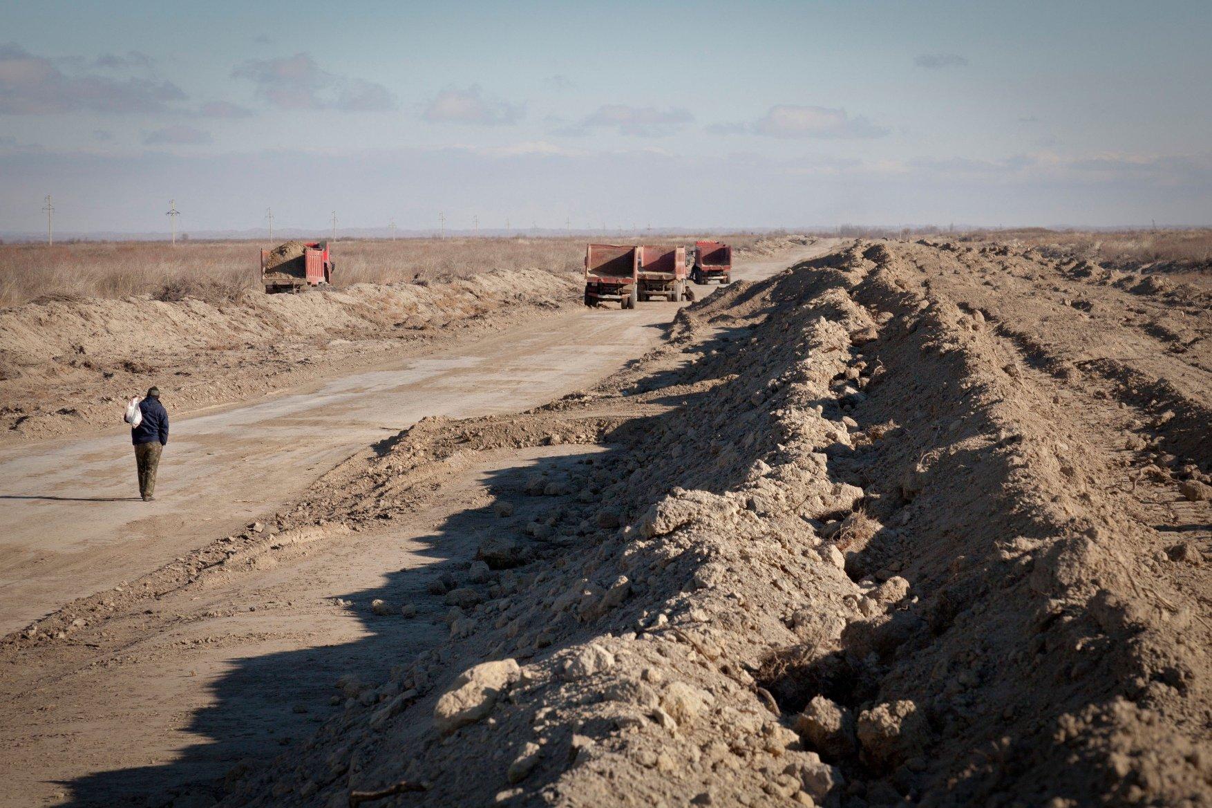 Izgradnja autoceste Alma Ata - Khorgos