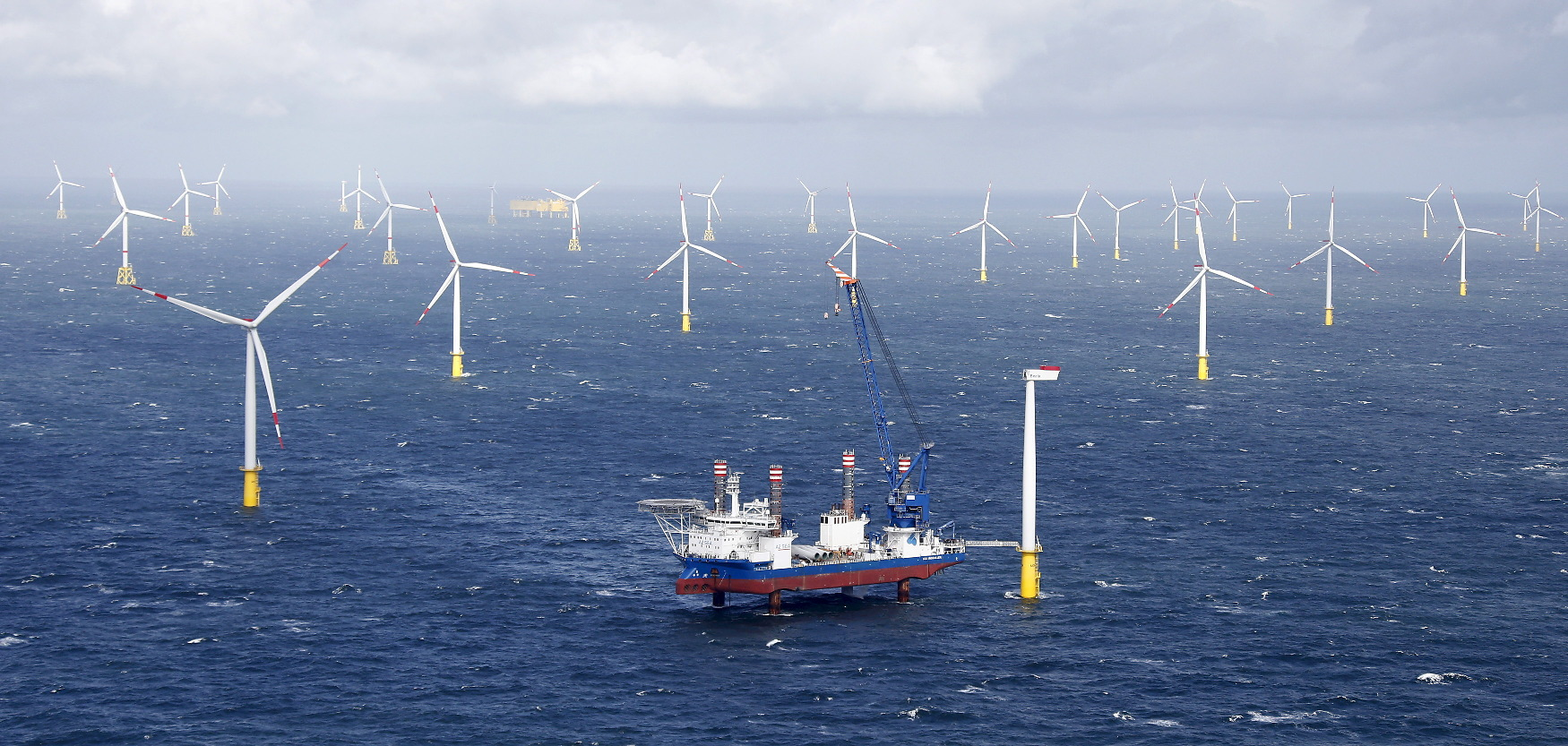 Vjetroelektrane kod njemačkog otoka Amrum