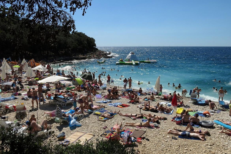 plaža Ambrela u Puli