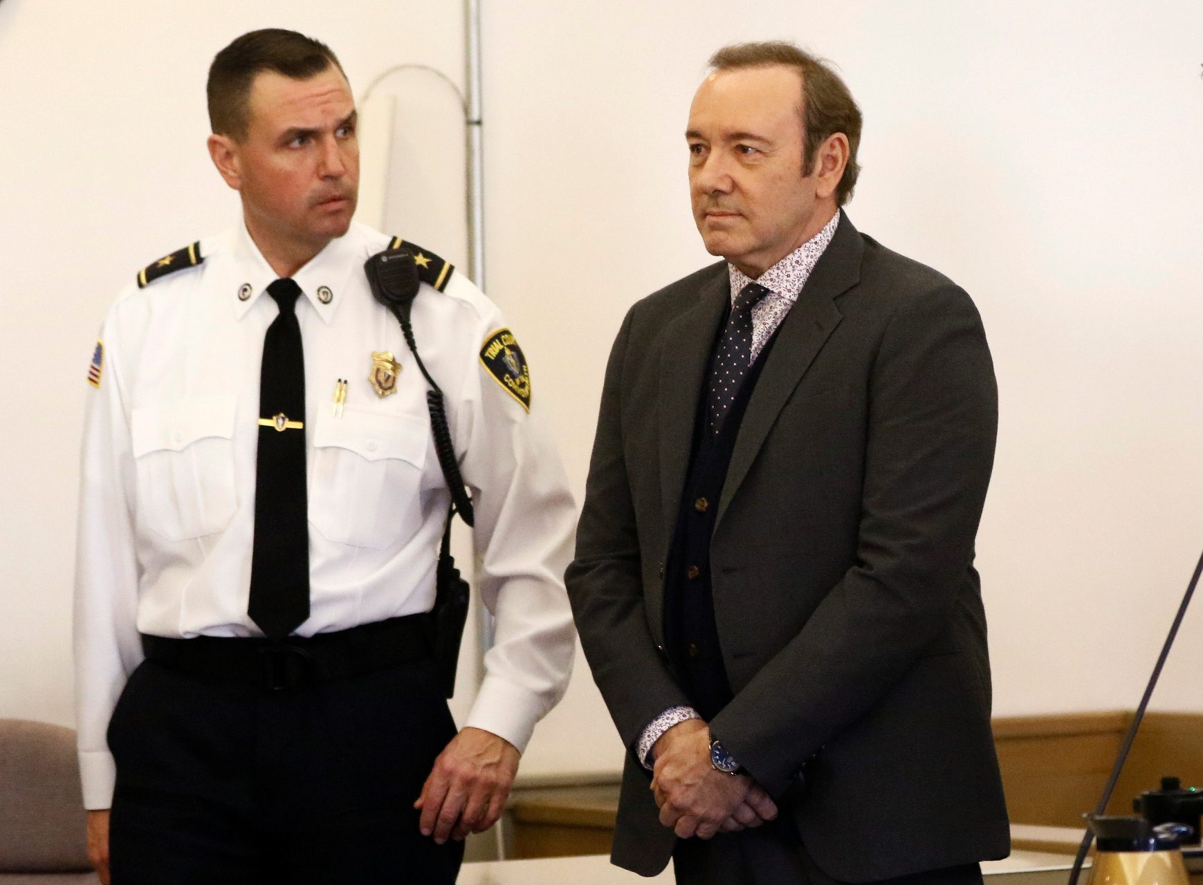 Kevin Spacey na sudu u Nantucketu