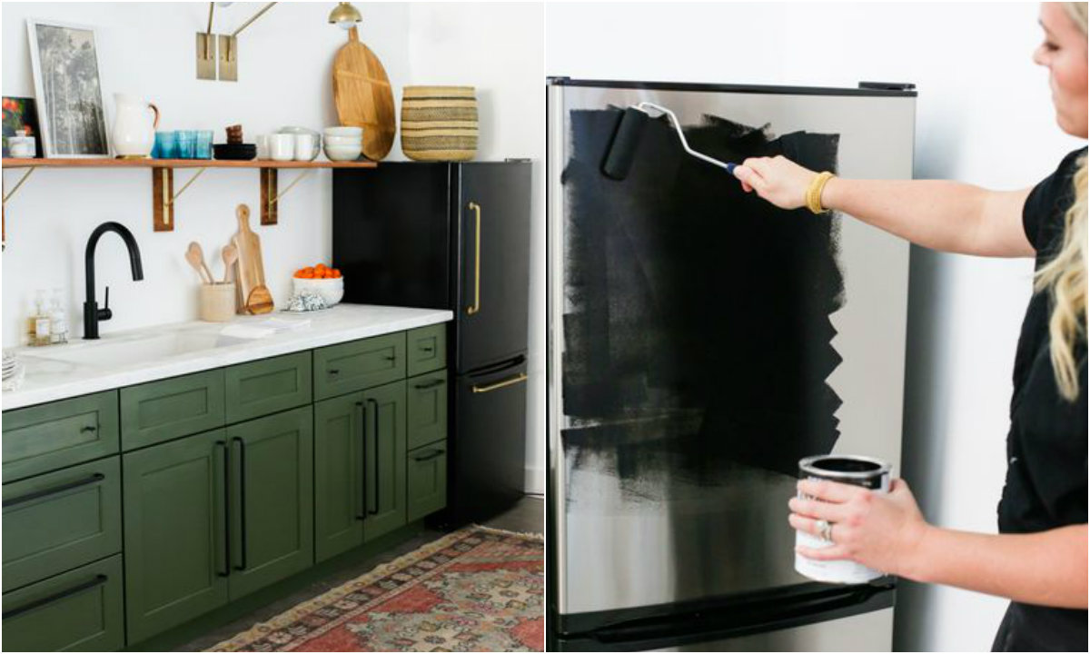 Makeover hladnjaka collage