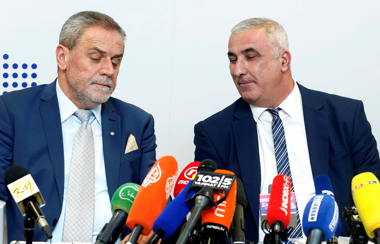 Milan Bandić i Mladen Mađer