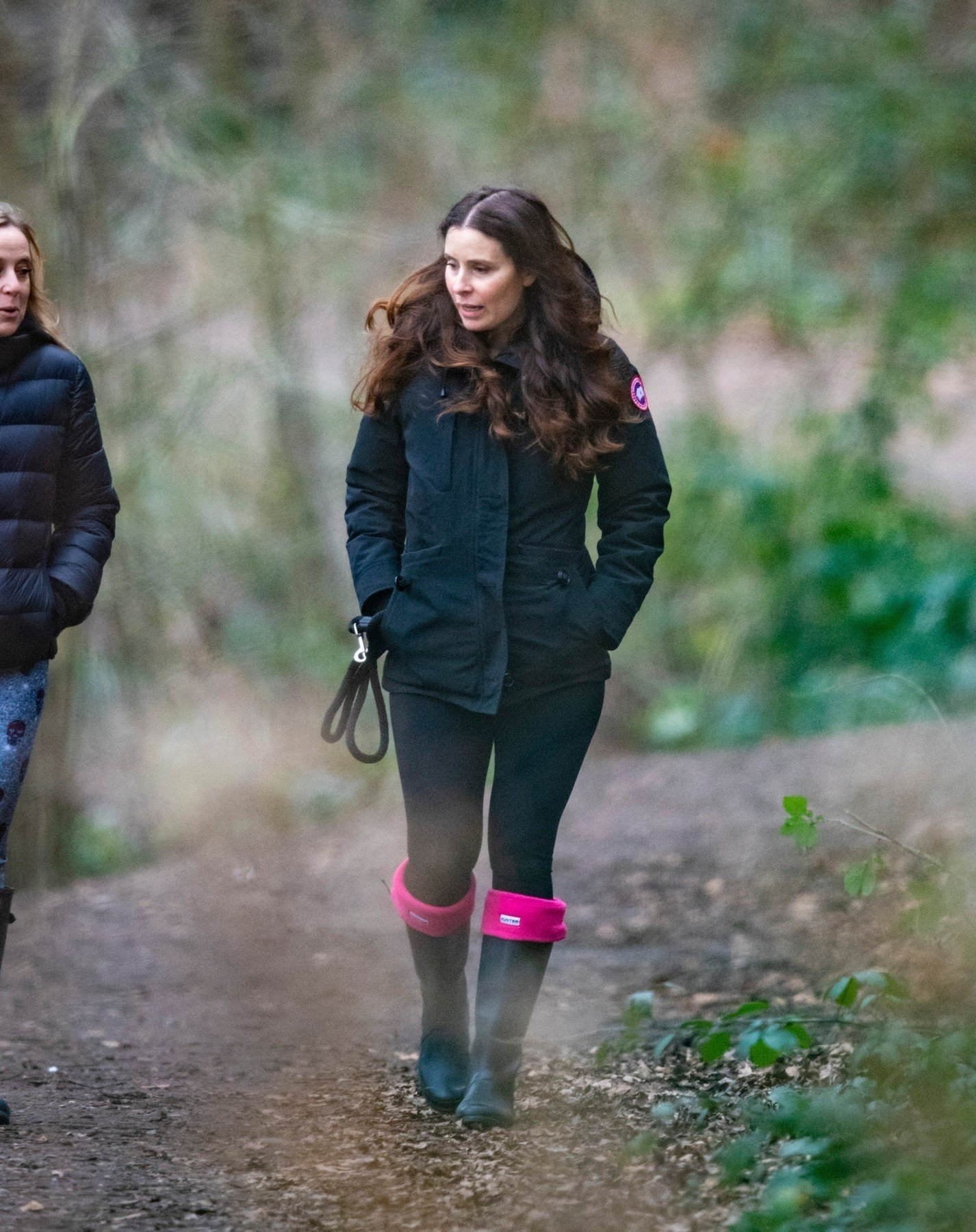 BGUK_1448789 - London, UNITED KINGDOM  - *EXCLUSIVE*  - **No Sun Online or Mail Online**  Tana Ramsay is glowing as she shows off baby bump at 44 years old after miscarriage sadness. In the first pics since the pregnancy announcement in the New Year the mum of 4 went on a walk with a friend and was the picture of happiness as she played ball with her two dogs.  *STRICTLY NOT AVAILABLE FOR ANY SUBSCRIPTION DEALS*  Pictured: Tana Ramsay    *UK Clients - Pictures Containing Children Please Pixelate Face Prior To Publication*, Image: 405548167, License: Rights-managed, Restrictions: , Model Release: no, Credit line: Profimedia, Xposurephotos