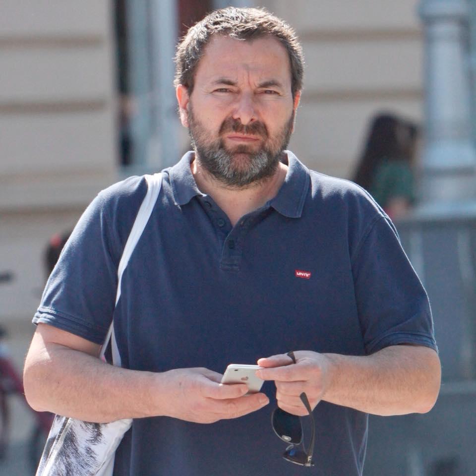 Robert Mihaljević, glavni urednik Podravskog lista