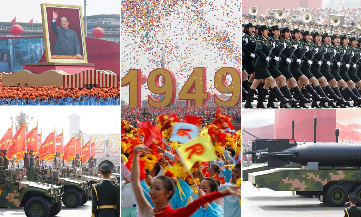 Vojna parada u Pekingu 1.10.2019.