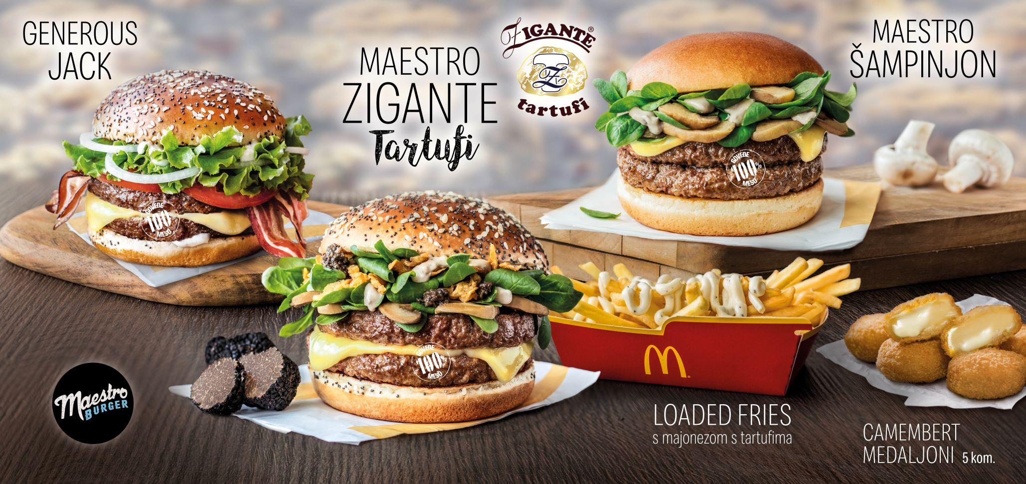 McDonald's Maestro Zigante Tartufi1