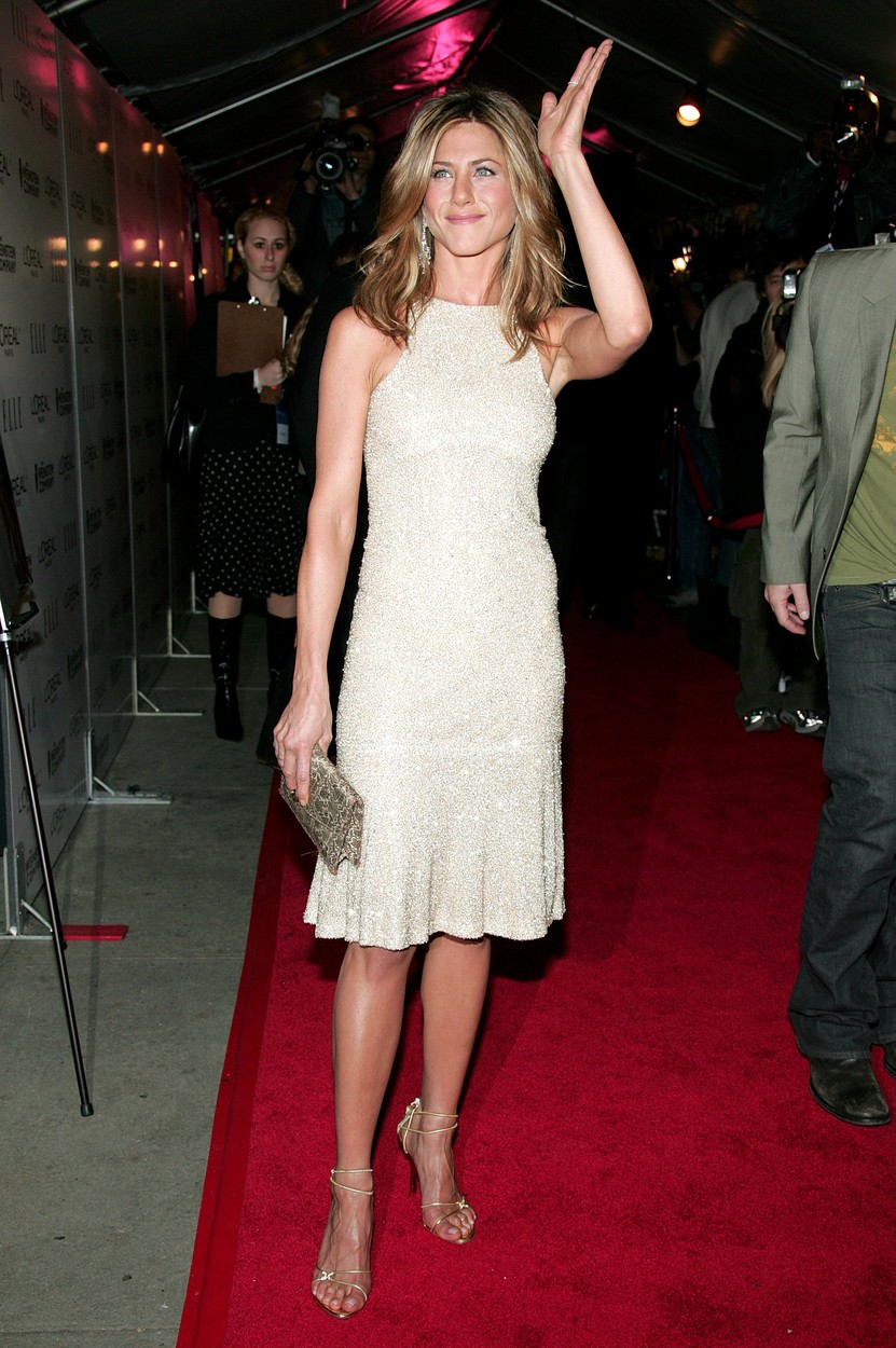 Jennifer Aniston 'DERAILED' FILM PREMIERE, NEW YORK, AMERICA  - 30 OCT 2005, Image: 221282212, License: Rights-managed, Restrictions: , Model Release: no, Credit line: Charles Sykes / Shutterstock Editorial / Profimedia