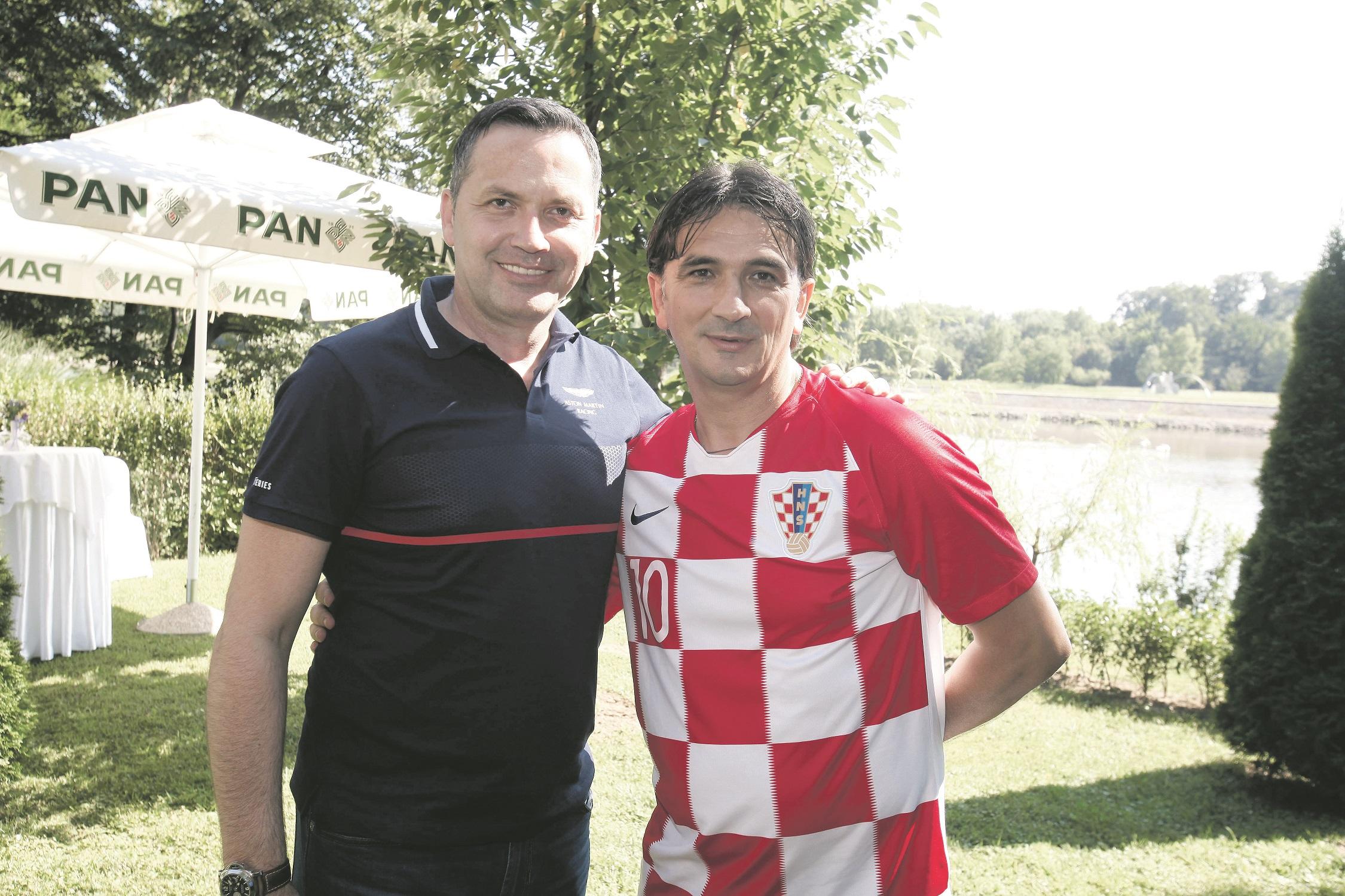 Marijan Kustić i Zlatko Dalić