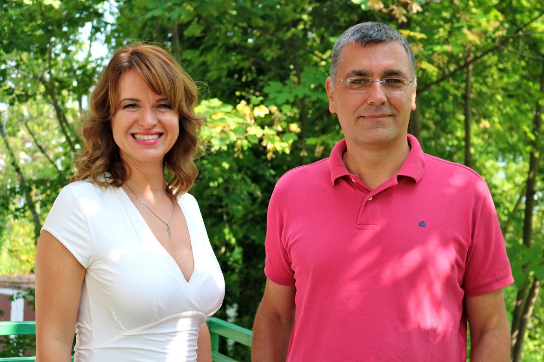 Iva Tolić i Nenad Pavin