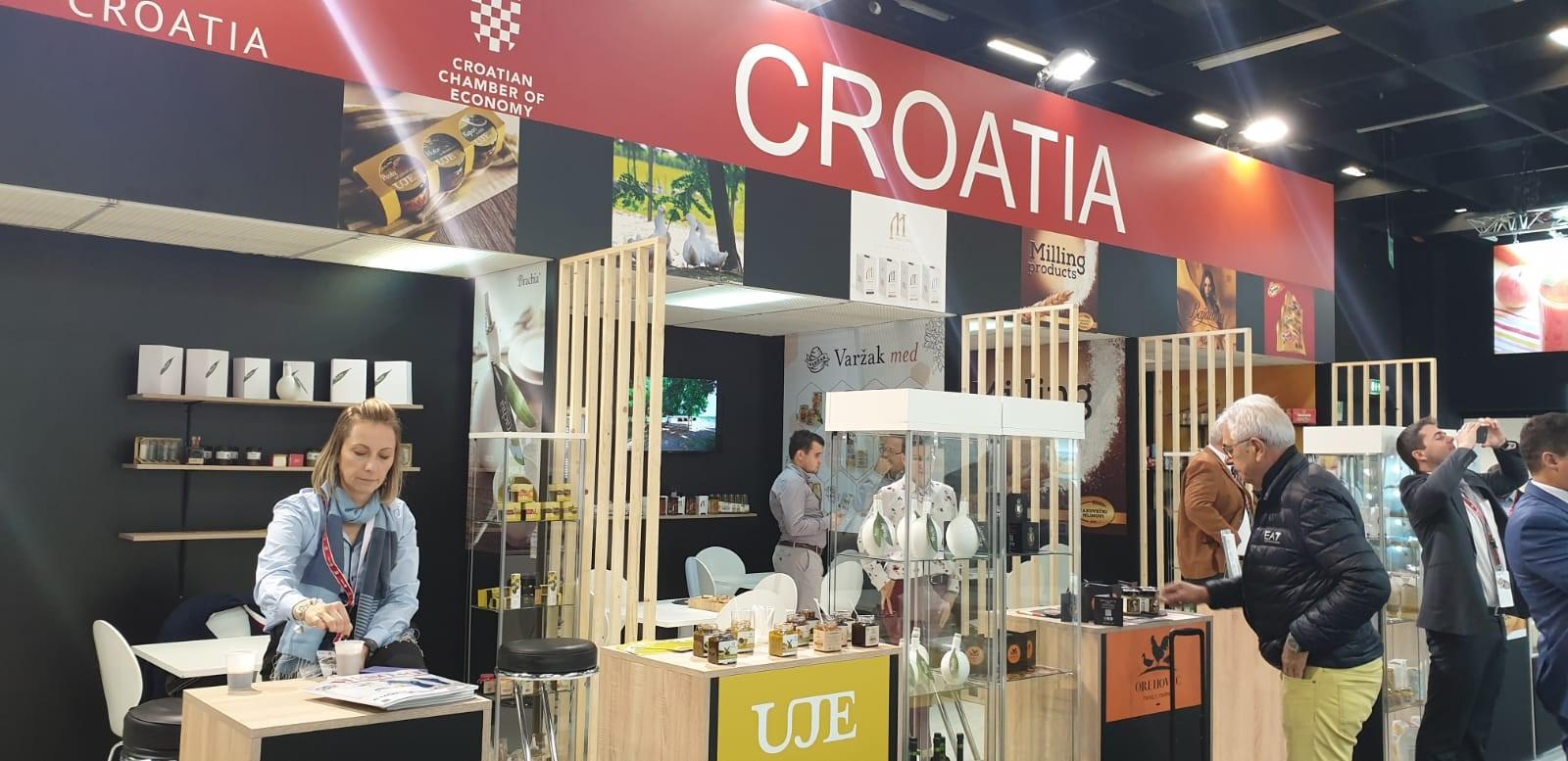 Hrvatski izlagači na sajmu Anuga 2019. , u Kolnu, Njemačka