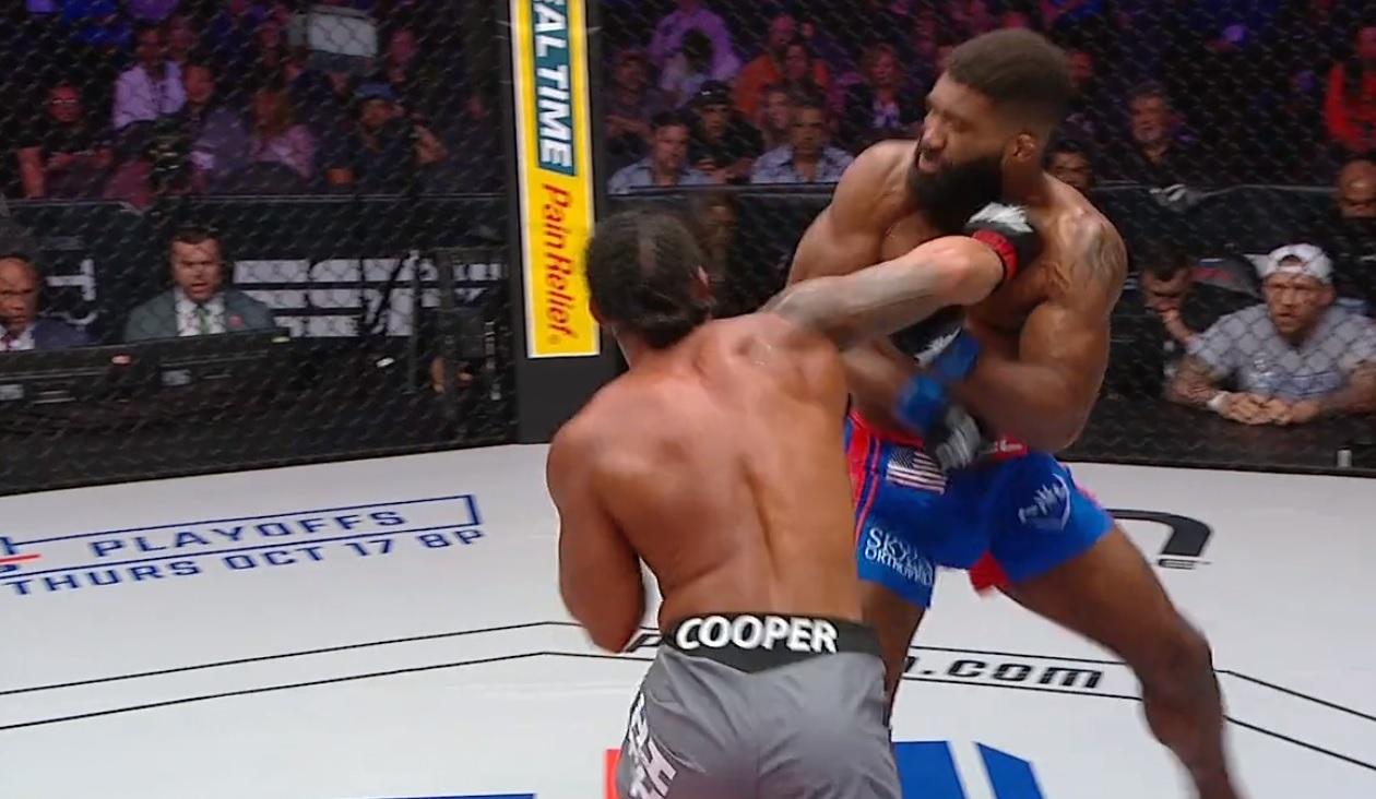 Ray Cooper III vs. Chris Curtis
