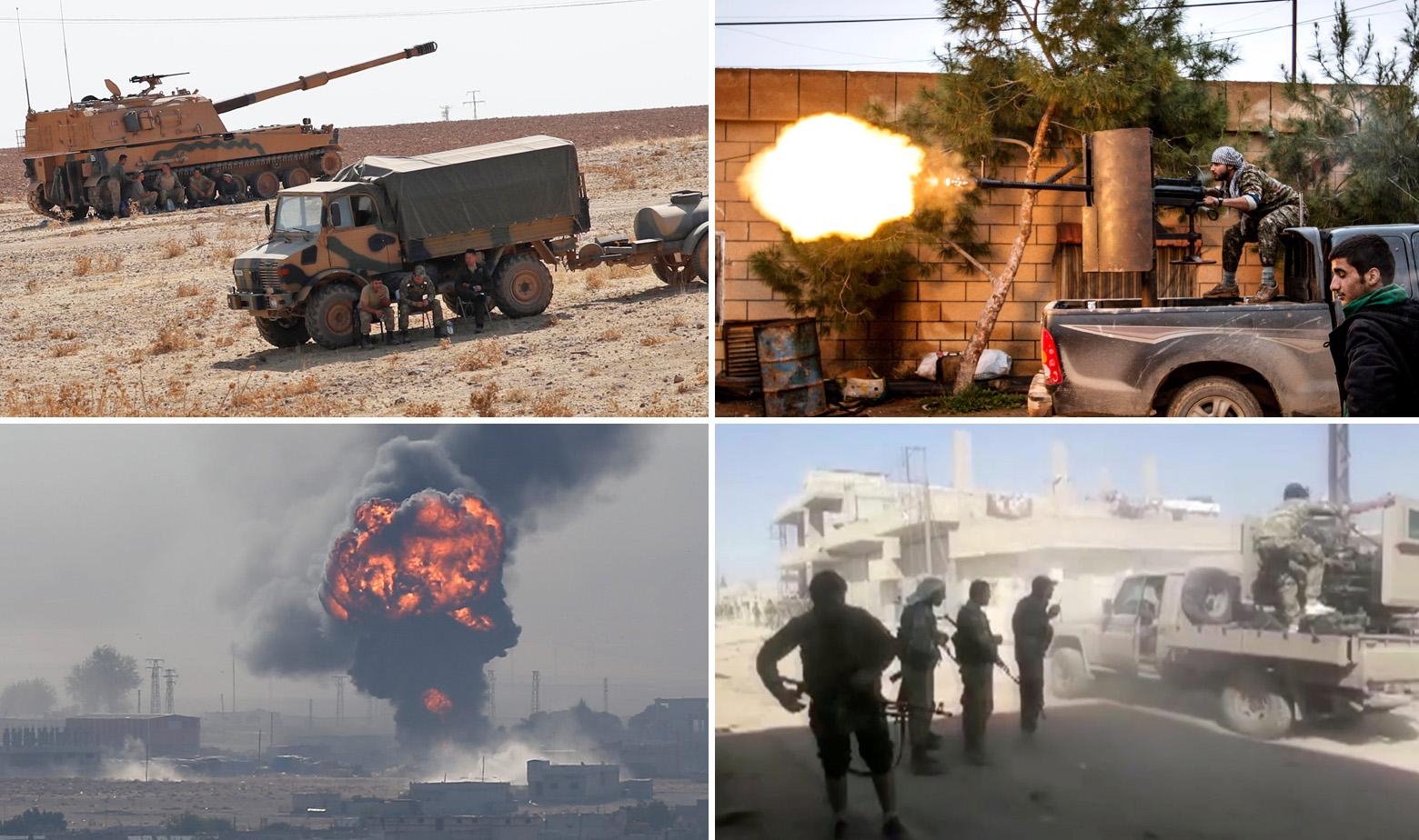 Turska Sirija napad