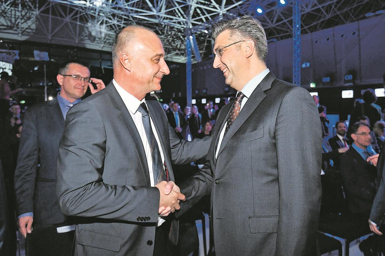 Ivan Vrdoljak i Andrej Plenković