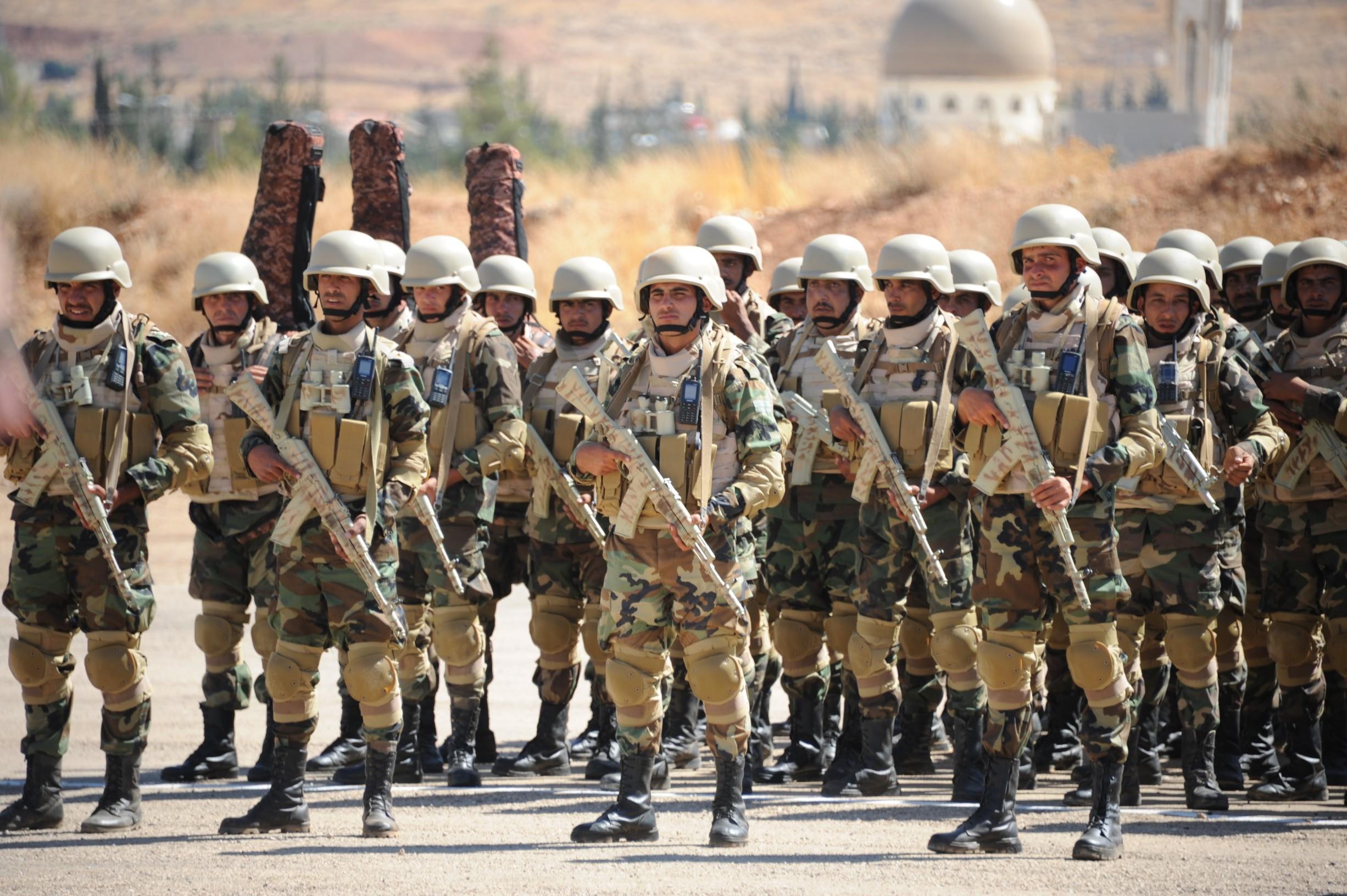 Elitne trupe sirijske vojske
