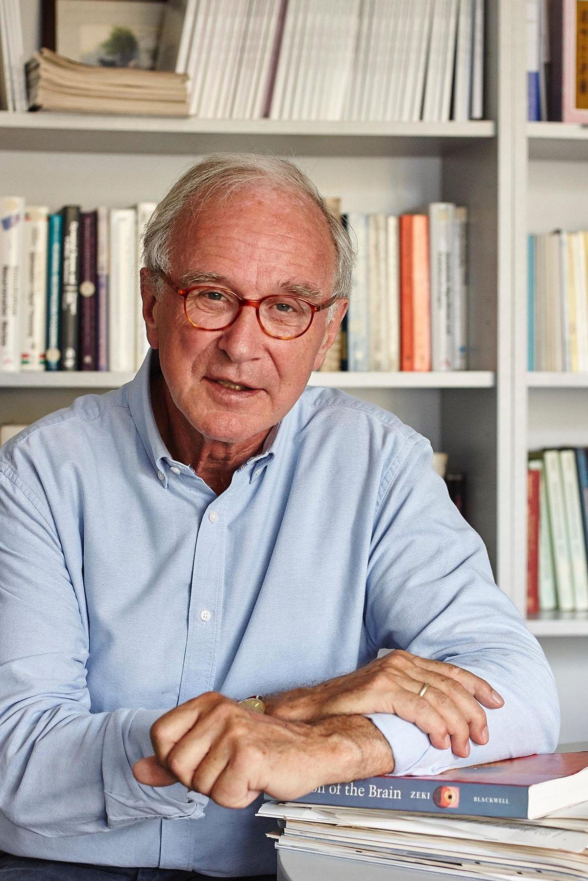Cristoph von der Malsburg, physicist and neurobiologist from Frankfurt Institute for Advanced Studies