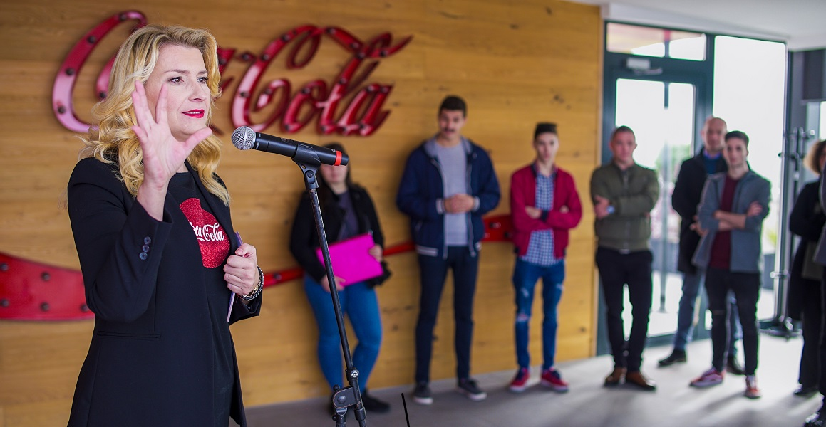 Ruža Tomić Fontana, glavna direktorica Coca-Cole HBC za Hrvatsku, Bosnu i Hercegovinu i Sloveniju