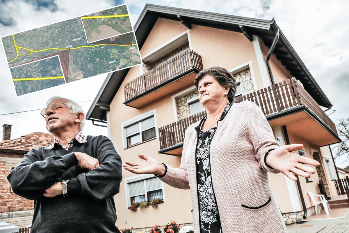 supružnici Ivo i Mara Perković, povratnici u mjesto Garevac
