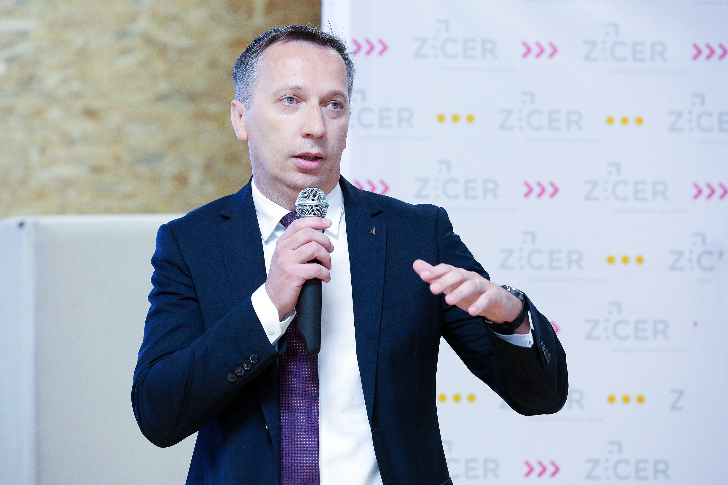 Zagreb, 141019. Velesajam. Predstavljanje sudionka cetvrtog ciklusa Startup Factory. Na fotografiji: Marijan Mrkonjic. Foto: Davor Pongracic / CROPIX