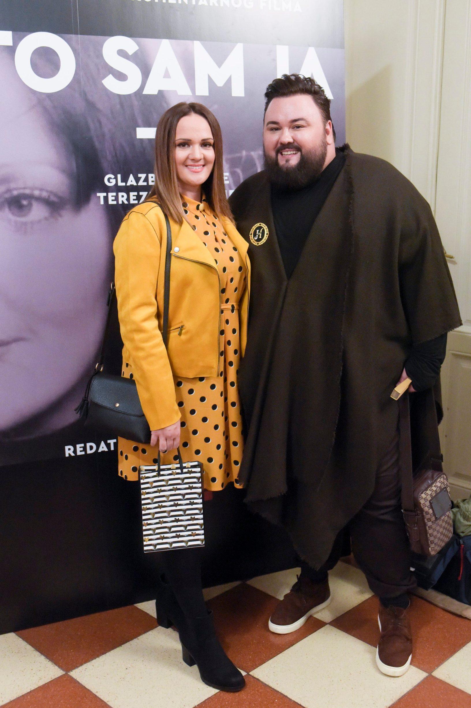 Na fotografiji: Jacques Houdek sa suprugom
