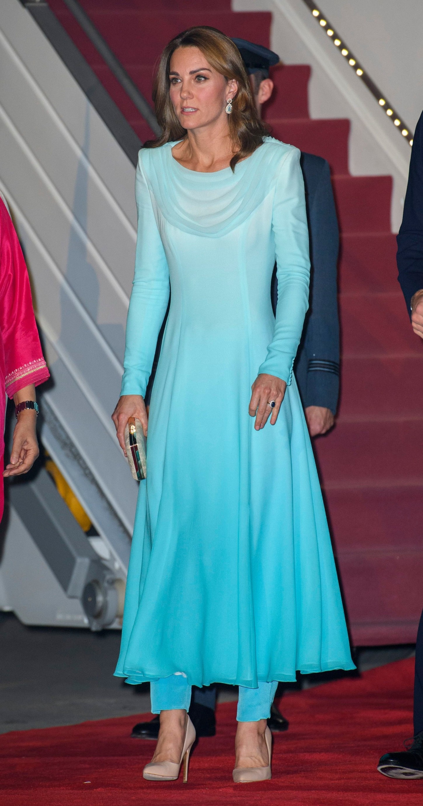Catherine Duchess of Cambridge The Duke and Duchess of Cambridge visit Pakistan - 14 Oct 2019, Image: 476699623, License: Rights-managed, Restrictions: , Model Release: no, Credit line: Tim Rooke / Shutterstock Editorial / Profimedia