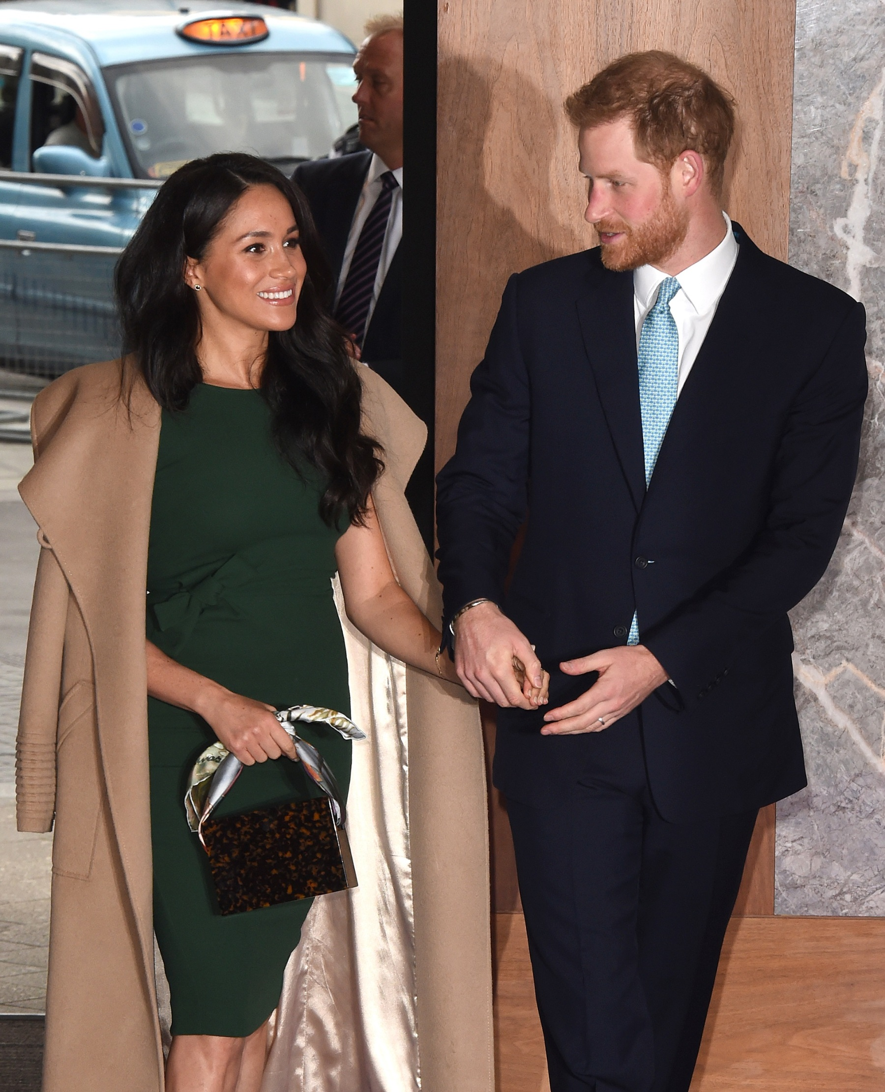 LONDON, ENGLAND - OCTOBER 15: Prince Harry, Duke of Sussex and Meghan, Duchess of Sussex attend the WellChild awards at Royal Lancaster Hotel on October 15, 2019 in London, England. (Photo by Stuart C. Wilson/Getty Images)