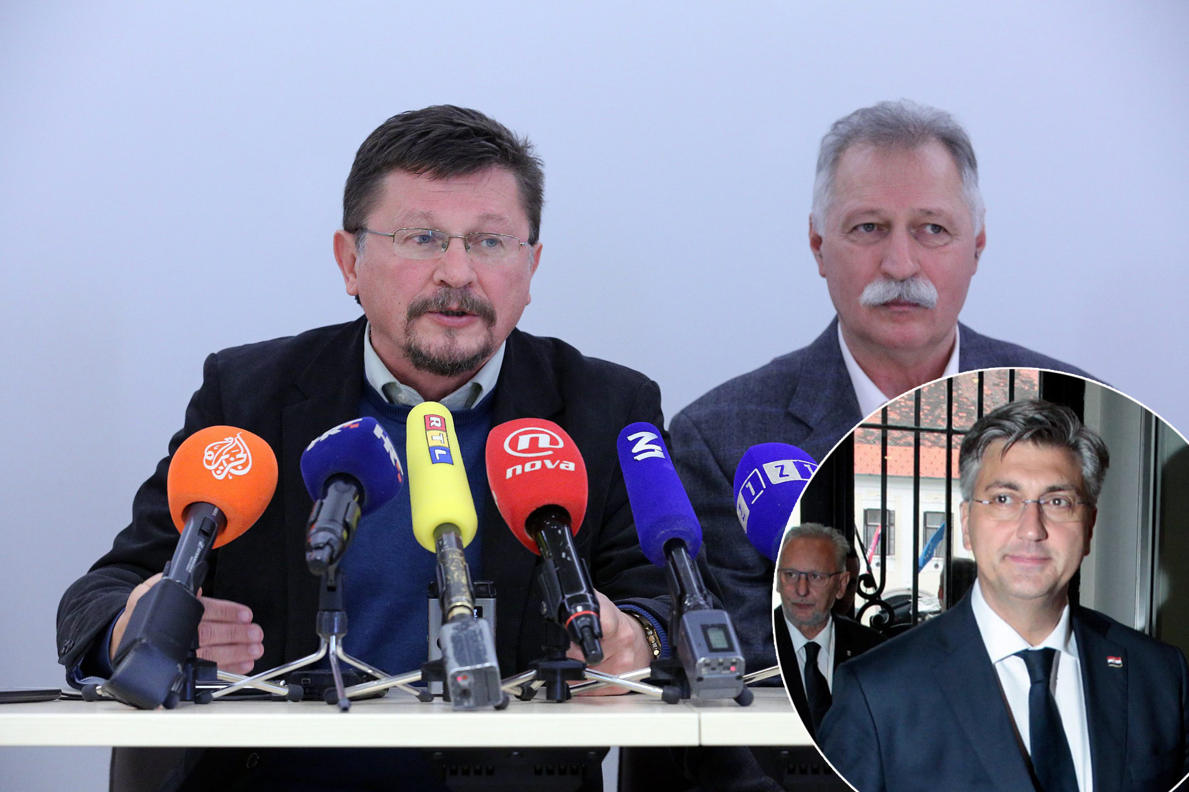 Vilim Ribić, Branimir Mihalinec, Andrej Plenković