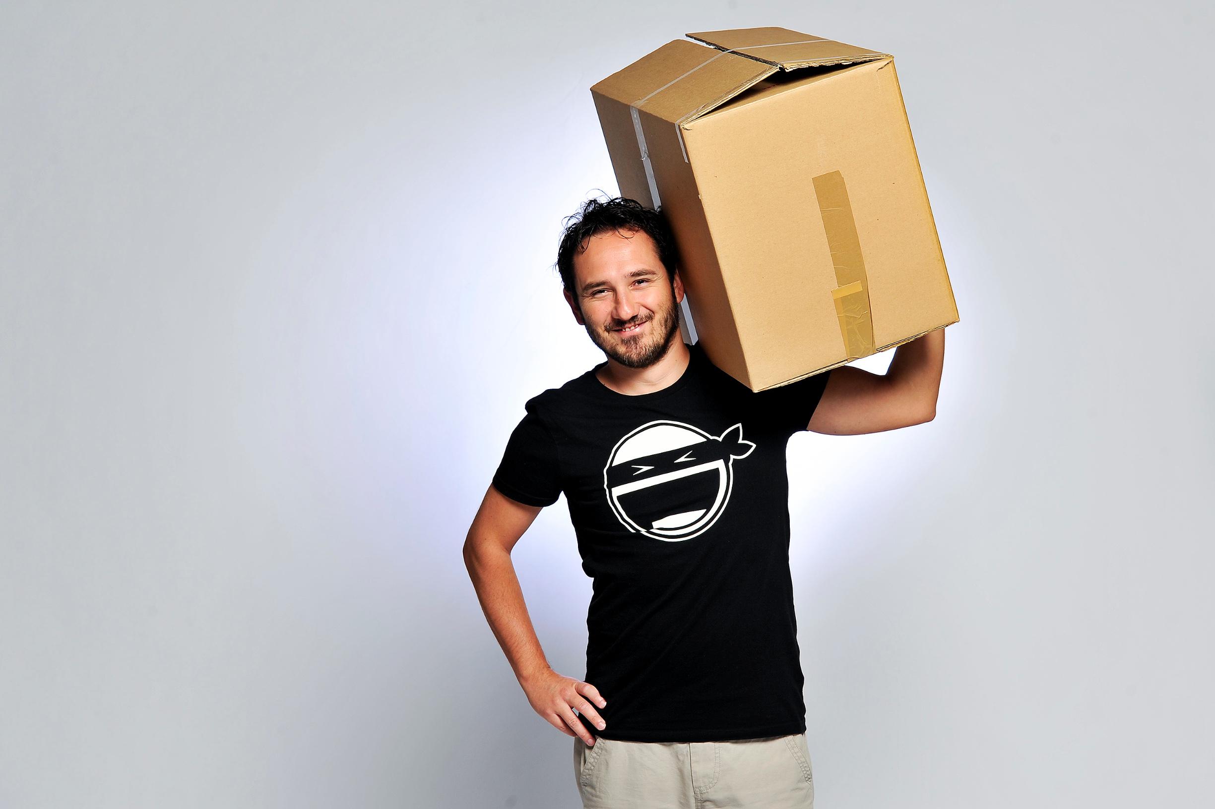 Stevica Kuharski, osnivač startupa Locodels koji se bavi inovativnom dostavom paketa
