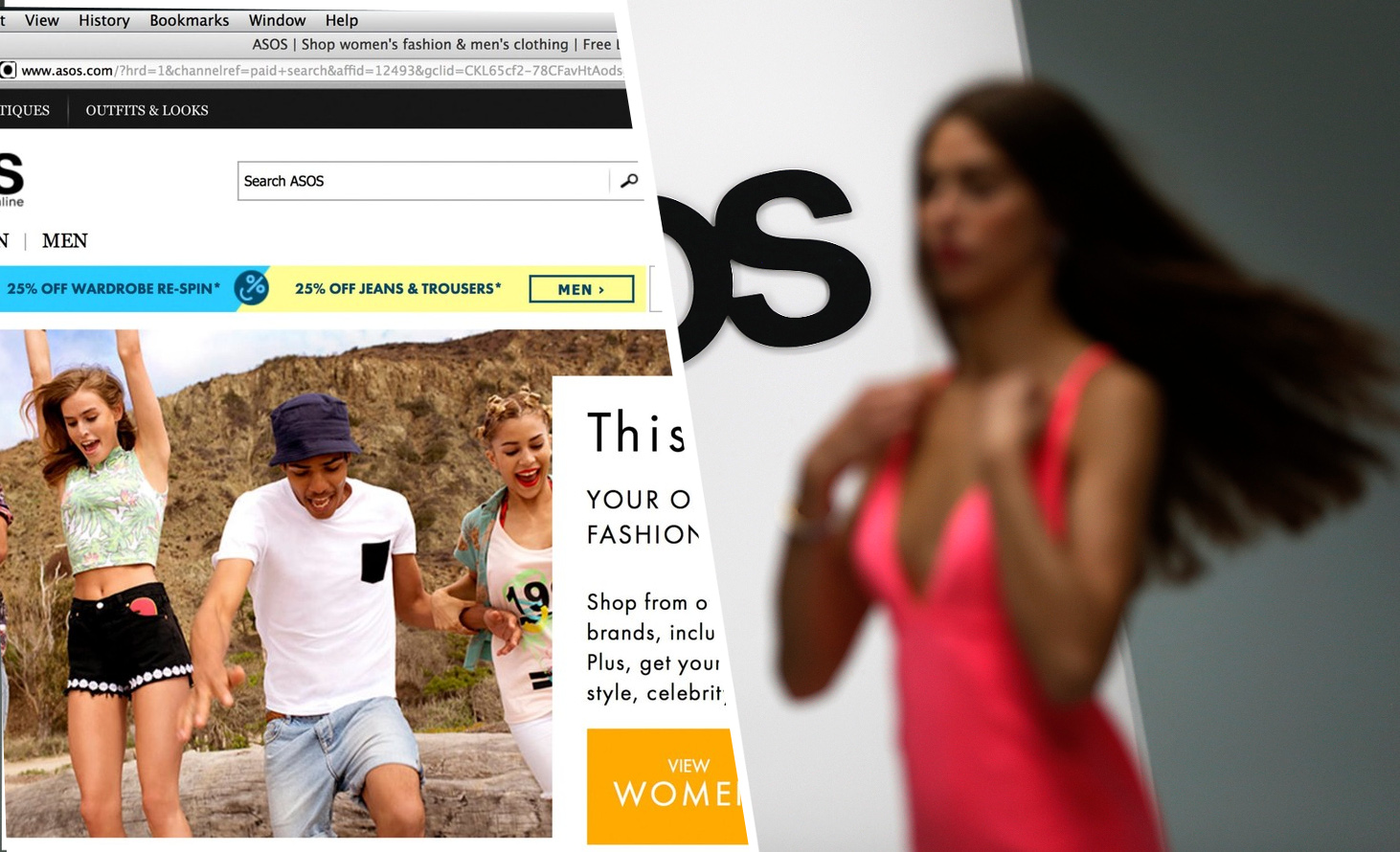 Asos, modna platforma