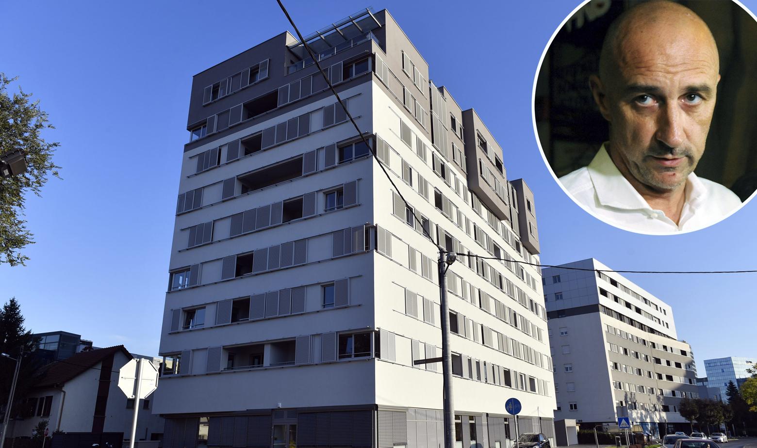 Ivan Vrdoljak i zgrada na Zavrtnici u kojoj je kupio stan
