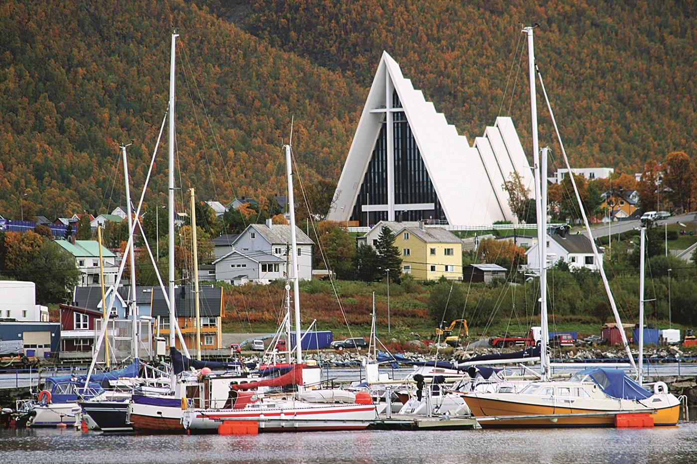 Arktička katedrala u Tromsu - najsjevernija na svijet