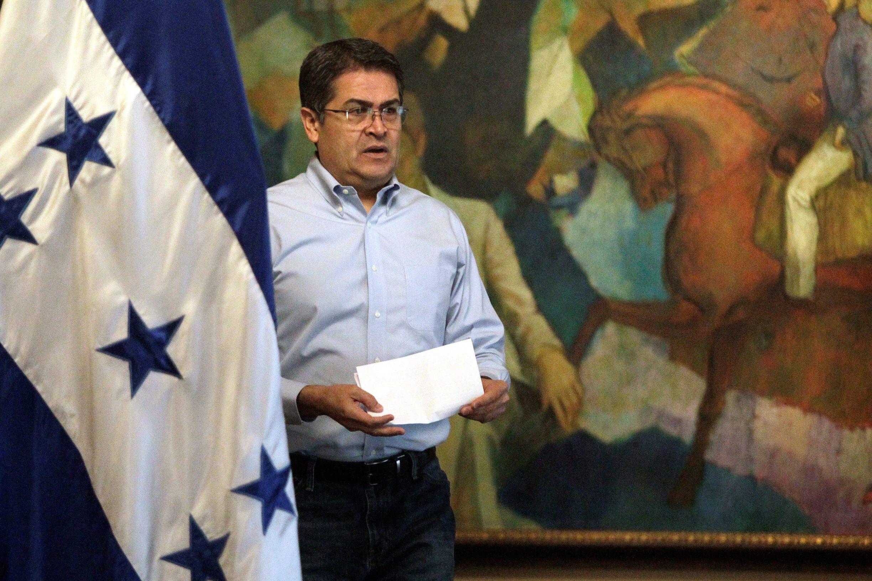 Predsjednik Hondurasa Juan Orlando Hernandez