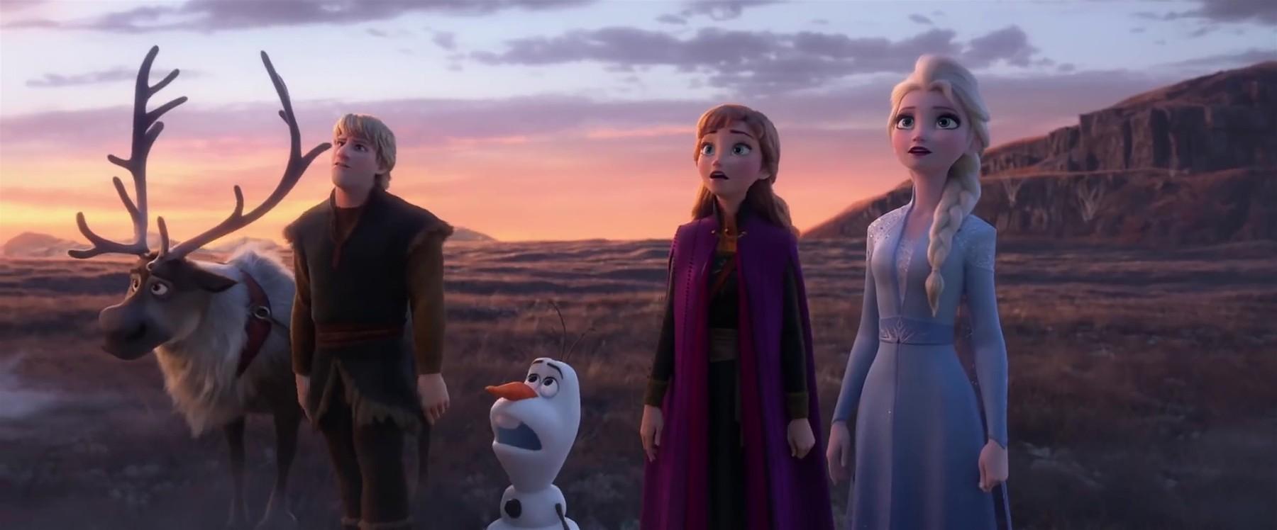 Scena iz popularnog Disneyjevog crtanog filma 'Snježno kraljevstvo'