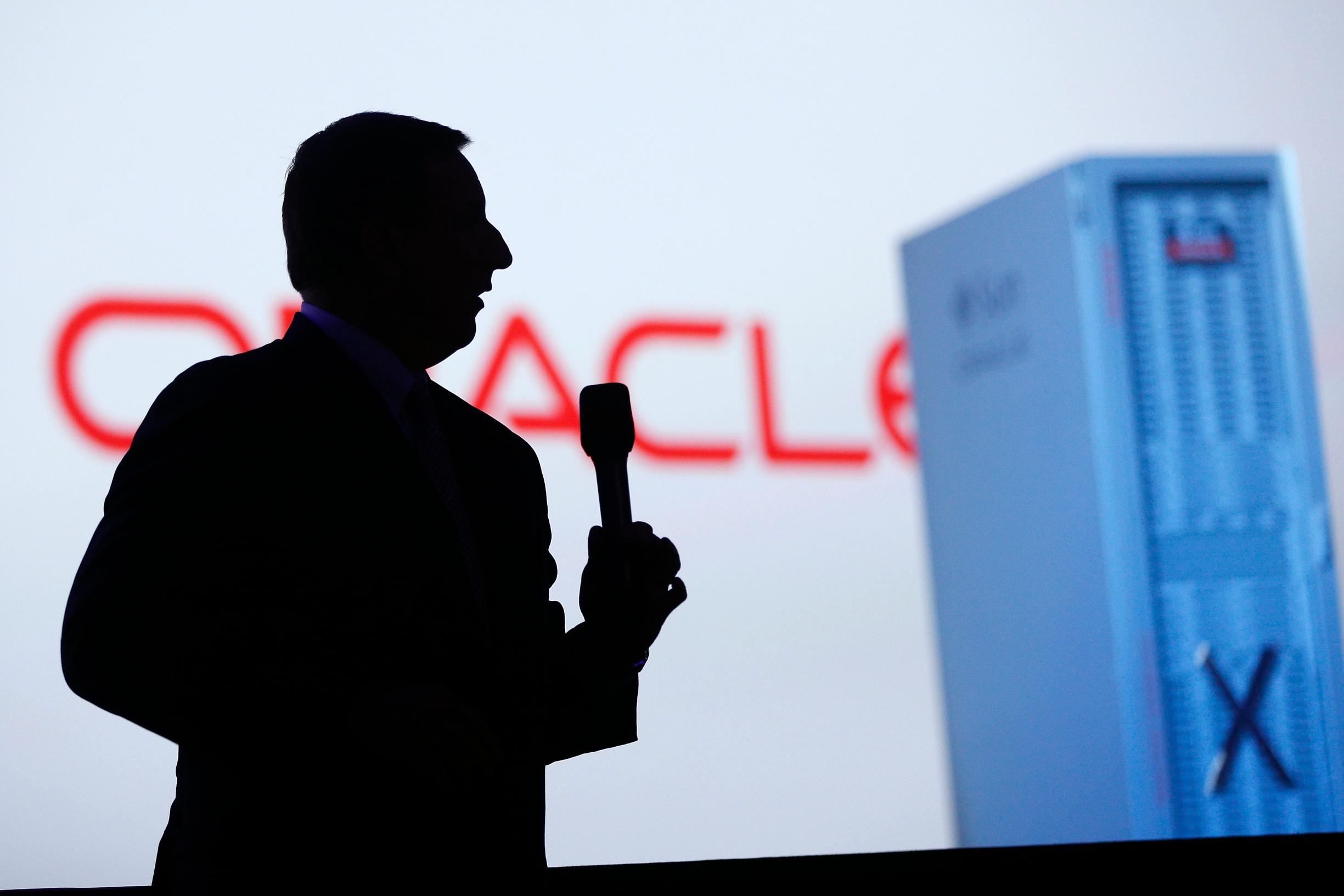 Mark Hurd, izvršni direktor Oraclea