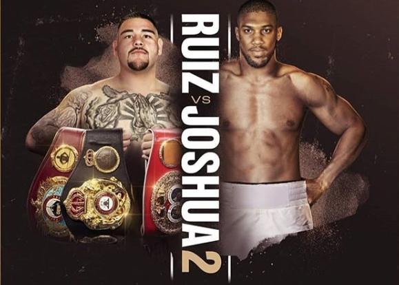 Ruiz vs Joshua 2 poster