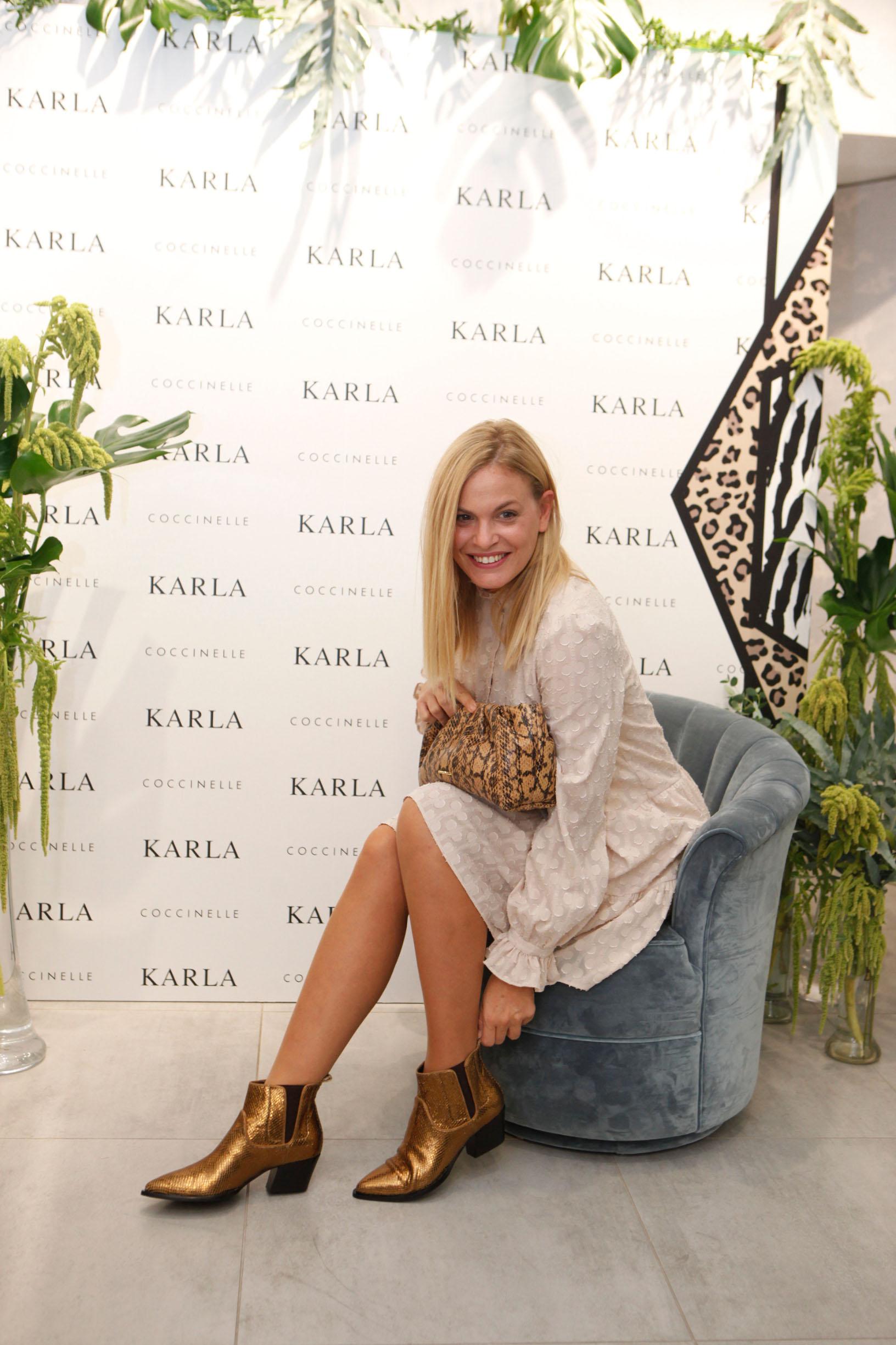 otvorenje preuredjenog butika za cipele Karla te promocija Gloria Glam casopisa / Karla / Zagreb 19.10.2019. / foto: Maja jurovic / Nevena Rendeli Vejzovic