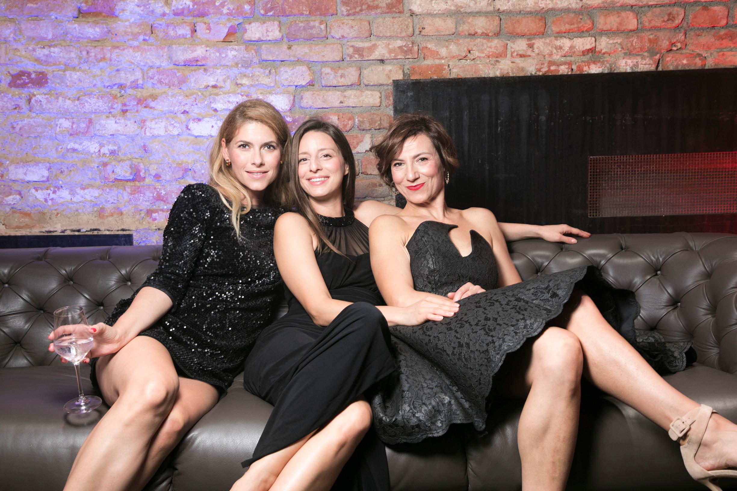Jelena Perčin, Jadranka Đokić i Daria Lorenci Flatz
