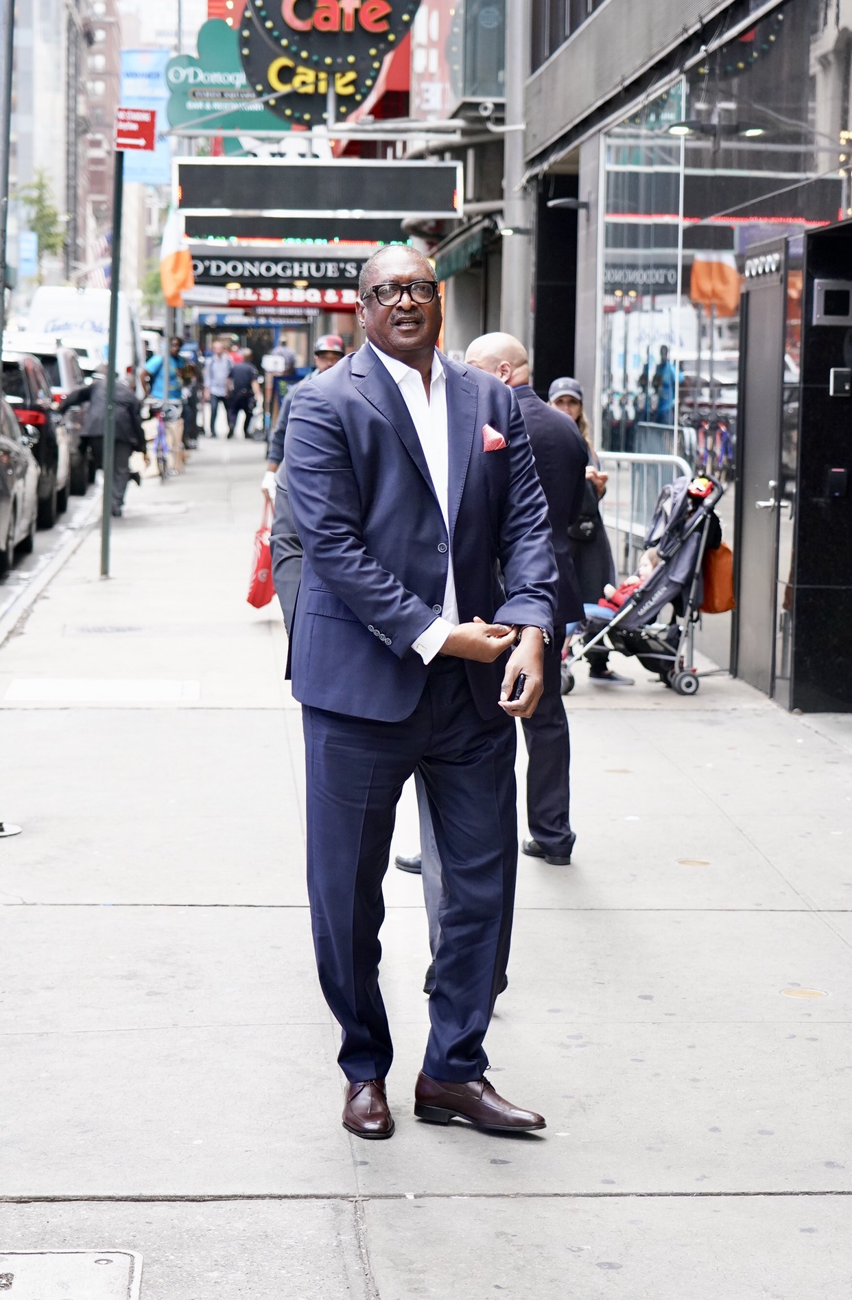 Mathew Knowles is seen arriving at Good Morning America. . 30 Sep 2019, Image: 474324453, License: Rights-managed, Restrictions: World Rights, Model Release: no, Credit line: Joe Russo / MEGA / Mega Agency / Profimedia