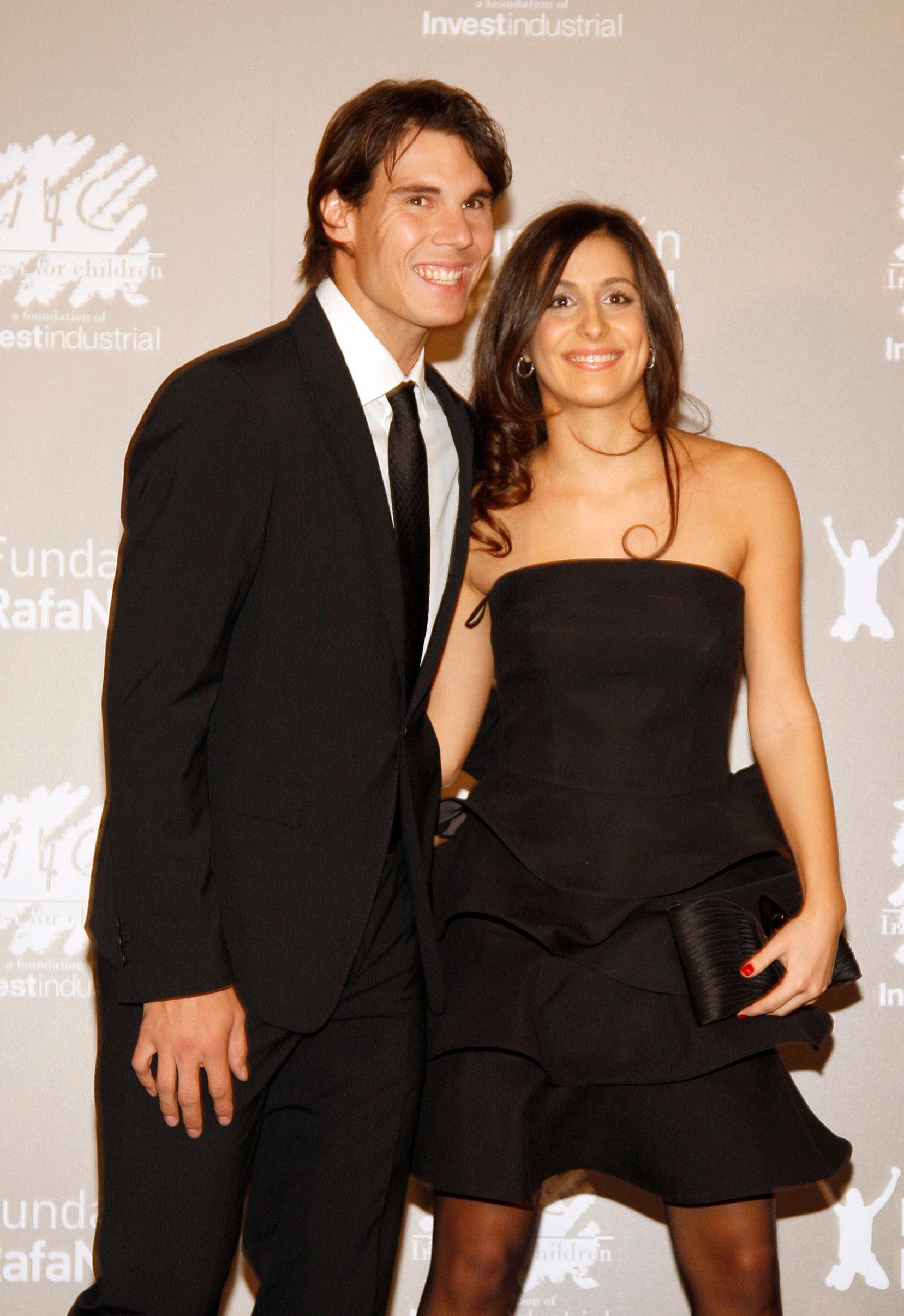 BARCELONA, SPAIN - DECEMBER 15:  Rafa Nadal and Maria Francisca Perello
