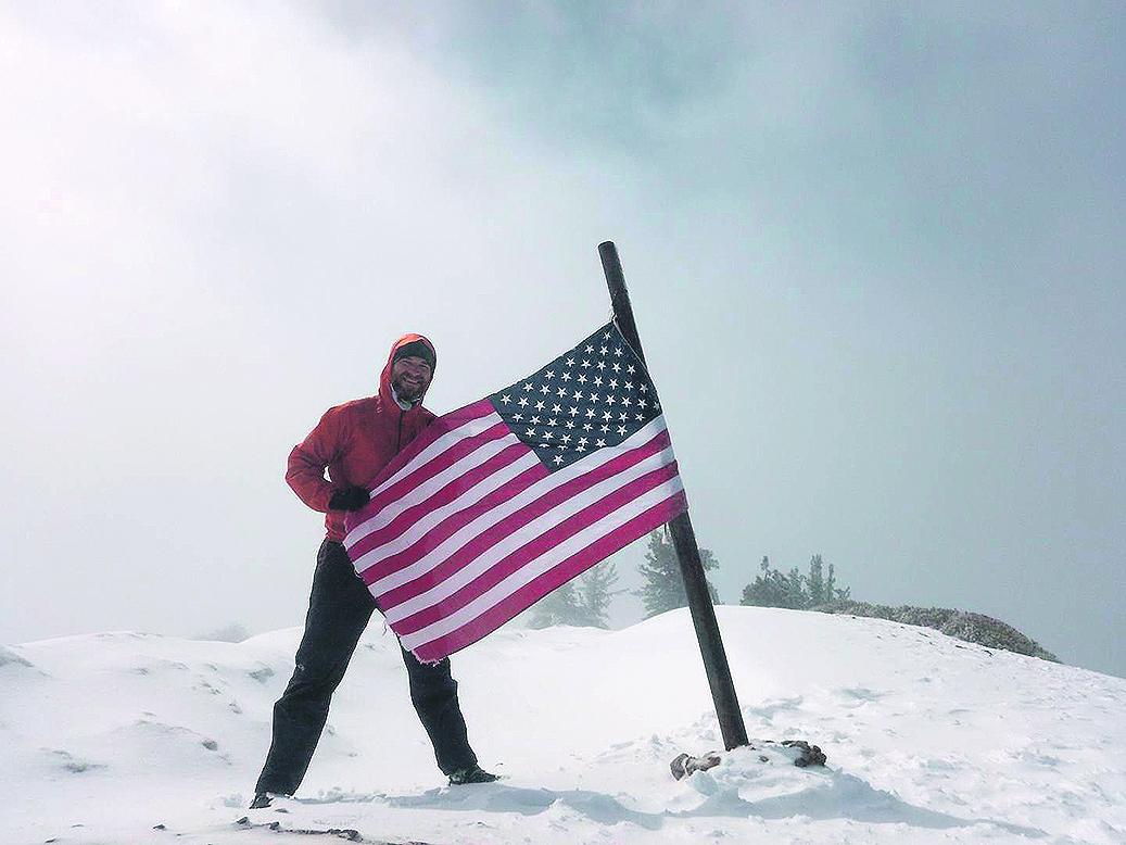 Željko Jurin na Mt. Baden Powell