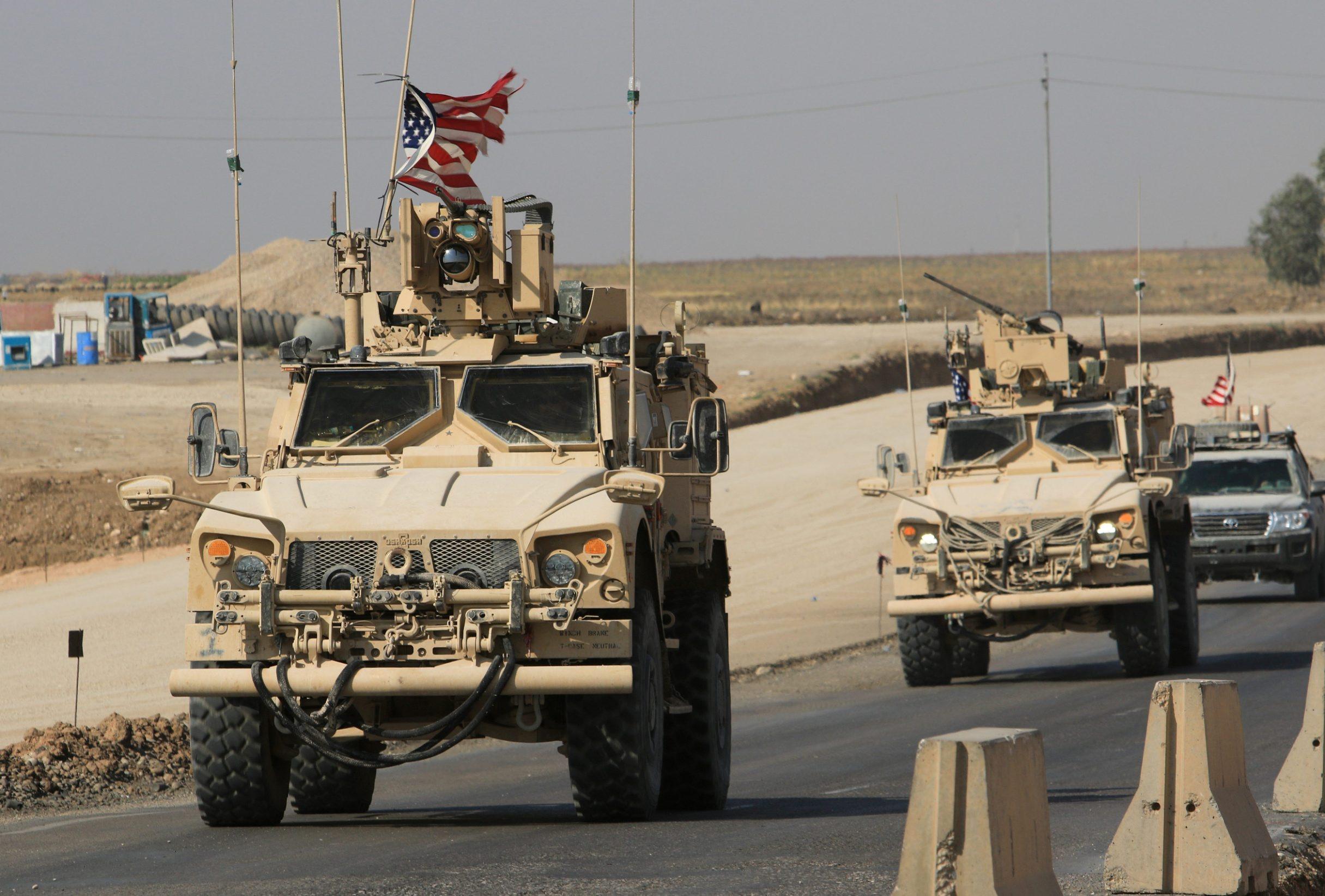 Konvoj američke vojske ulazi u Irak